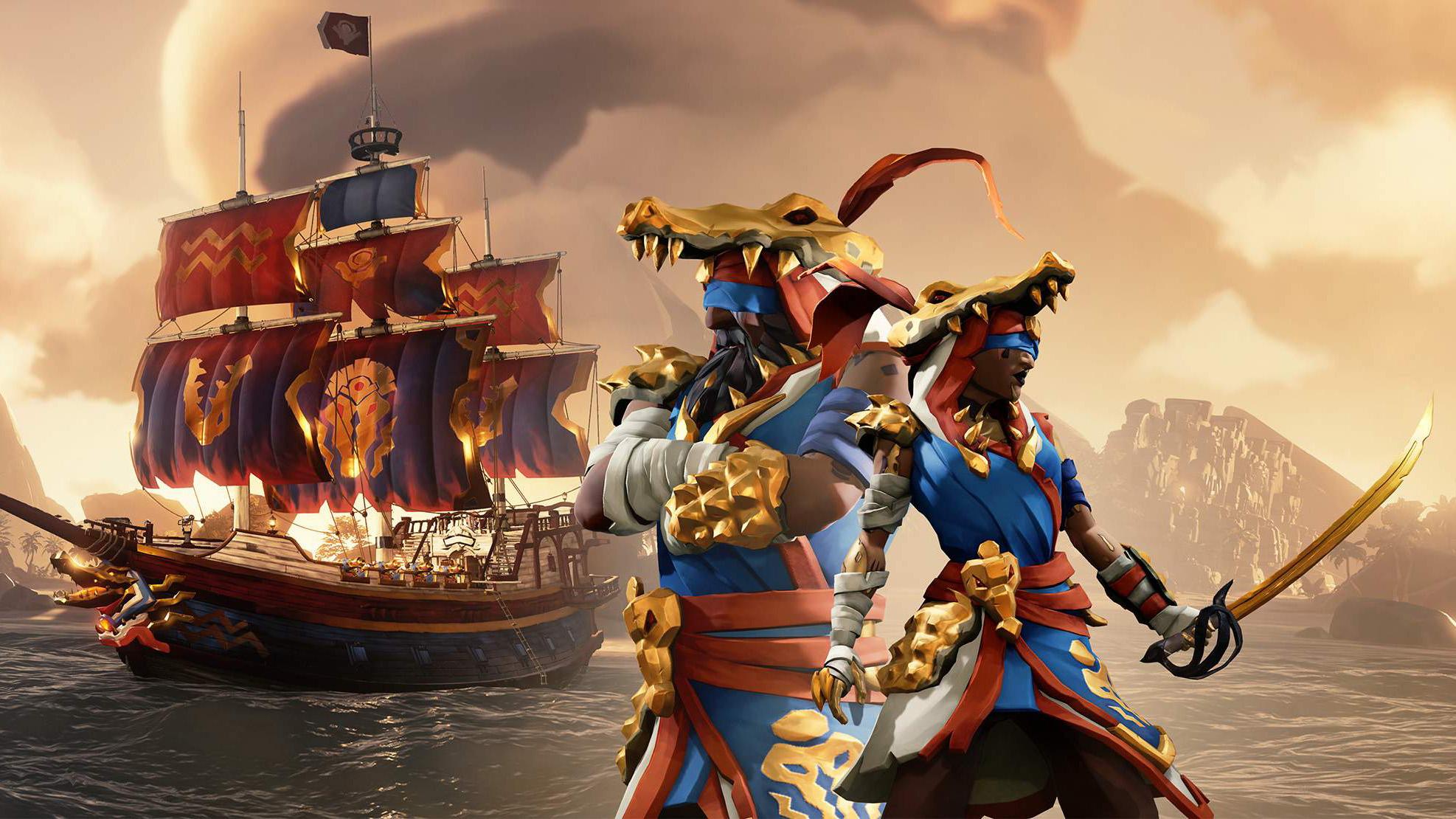 Sea of Thieves season four promo image