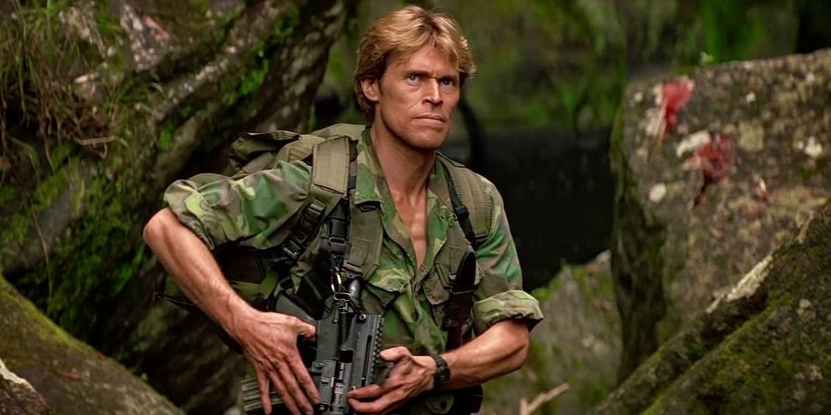 Willem Dafoe in Clear and Present Danger