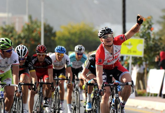 Andre Greipel wins, Tour of Oman 2012, stage four