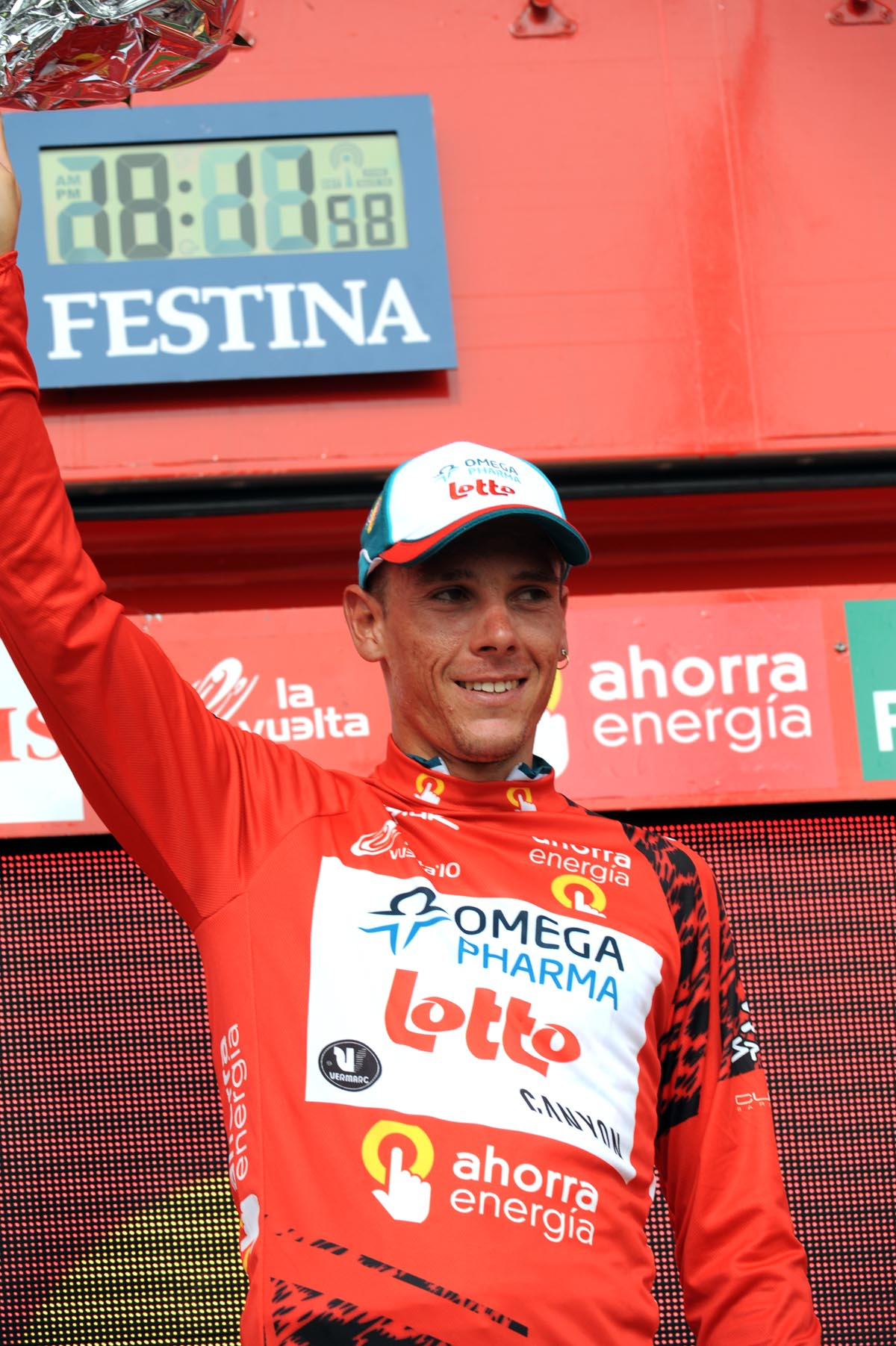 Philippe Gilbert, Vuelta a Espana 2010, stage four