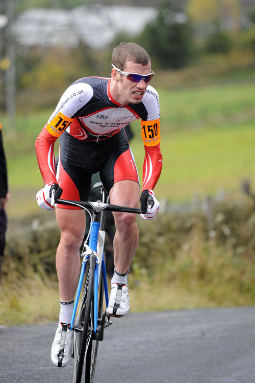 Matt Clinton, second, National Hill-Climb Championship 2009