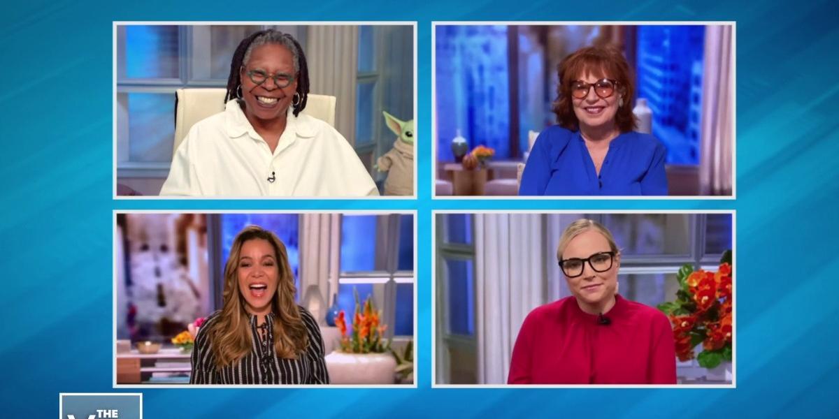 The View Whoopi Goldberg Sunny Hostin Joy Behar Meghan McCain ABC