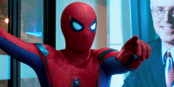 """Peter Parker/Spider-Man (Tom Holland) in """"Spider-Man: Homecoming"""" (2017)"""