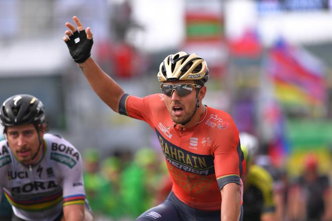 Sonny Colbrelli wins stage 3 at Tour de Suisse