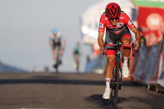 Vuelta Espana 2020 - 75th Edition - 8th stage Logrono - Alto de Moncalvillo 164 km - 28/10/2020 - Richard Carapaz (ECU - Ineos Grenadiers) - photo Luis Angel Gomez/BettiniPhoto©2020