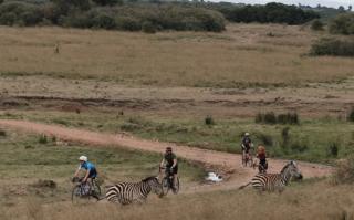 Scenery in Kenya for Migration Gravel Race 2021