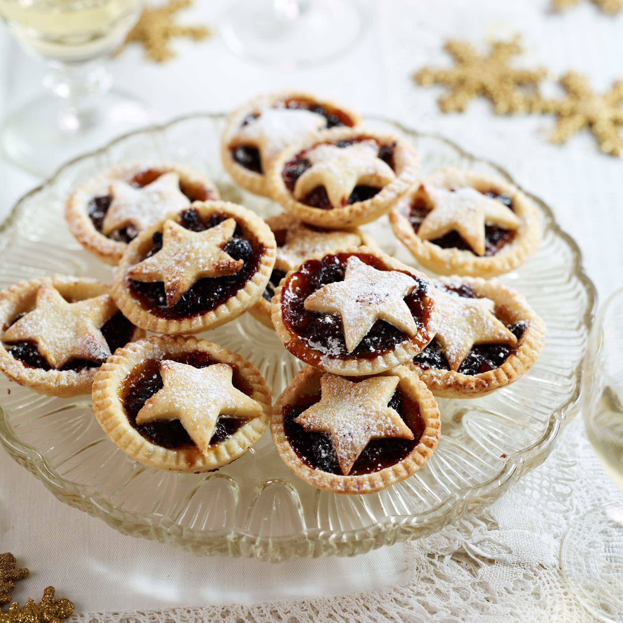 Christmas Pies.Gluten Free Mince Pies