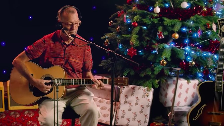 Eric Clapton White Christmas.Eric Clapton Shares Video For Bluesy Laid Back White