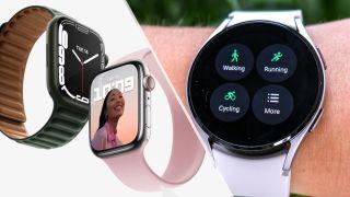Apple Watch vs Galaxy Watch 4