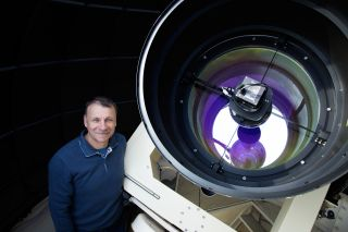 Gennady Borisov, a skywatcher who discovered the first interstellar comet.