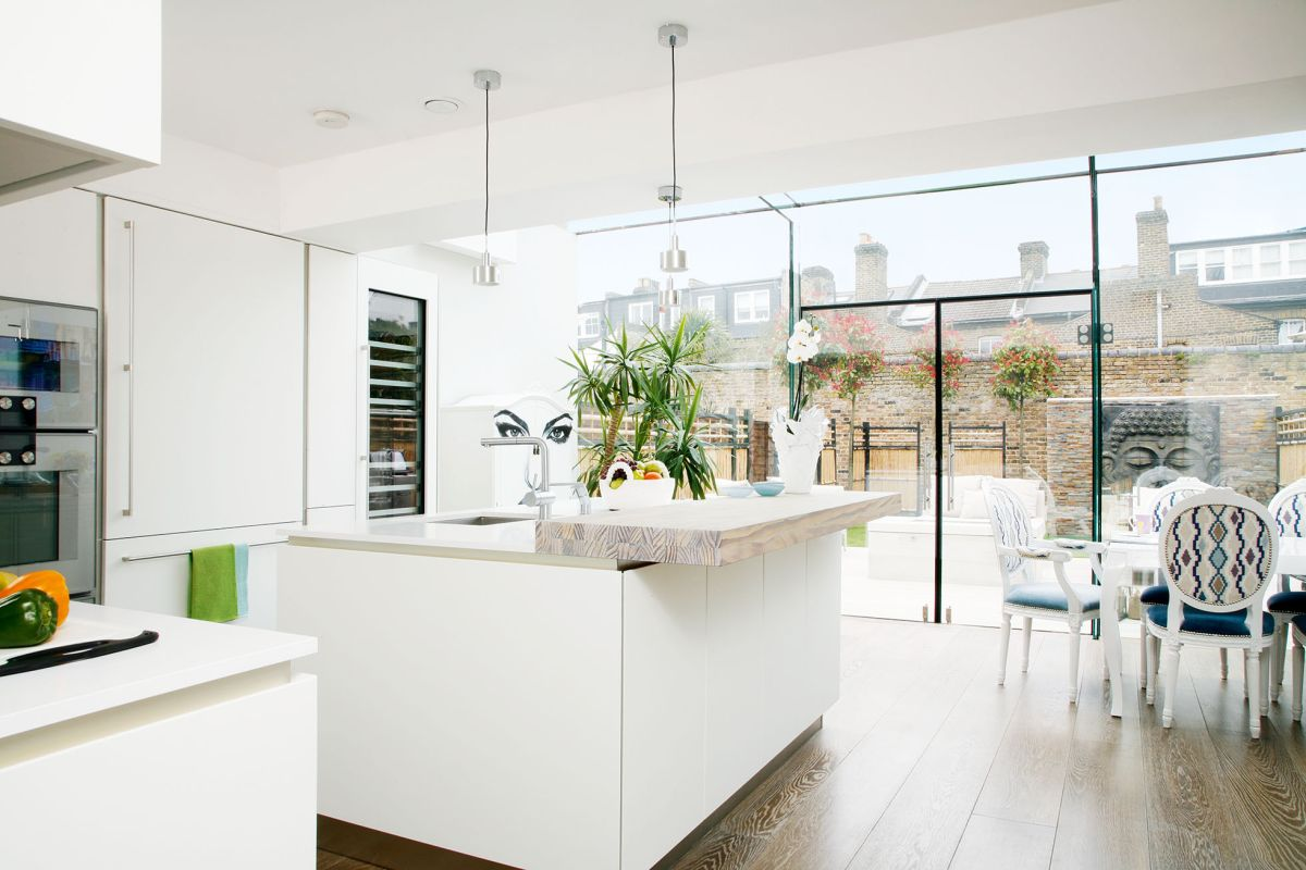 Glazed kitchen extension | Real Homes