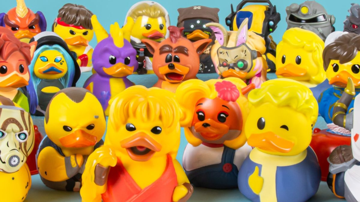 Cosplaying ducks just took bathtime to a whole new level