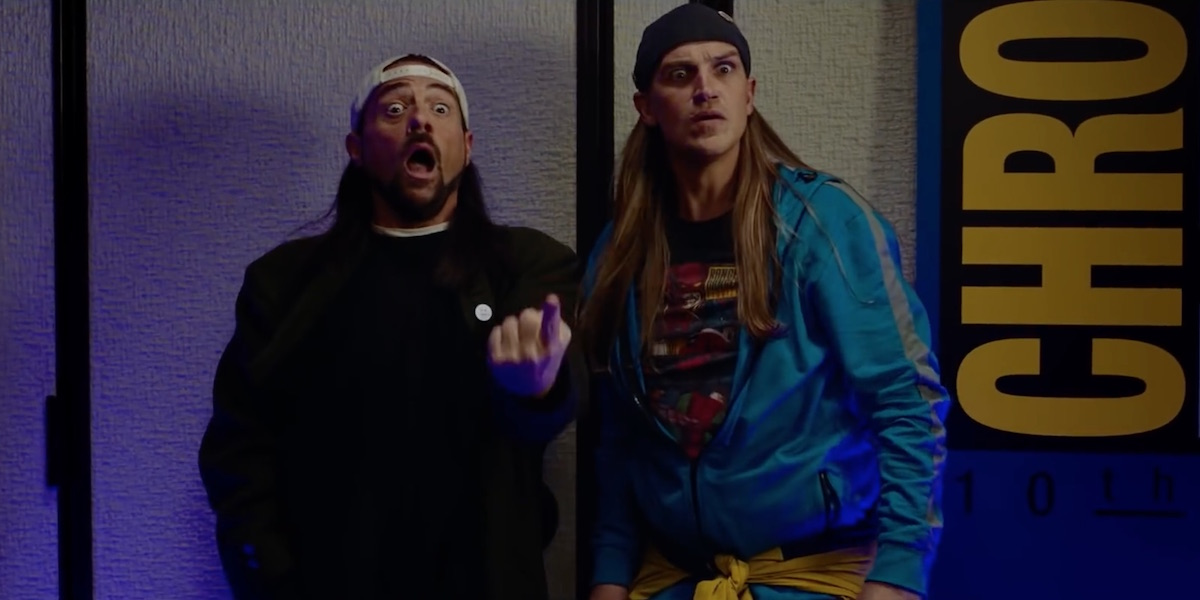 Jay and Silent Bob in the Reboot movie