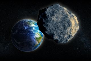 earth, asteroid