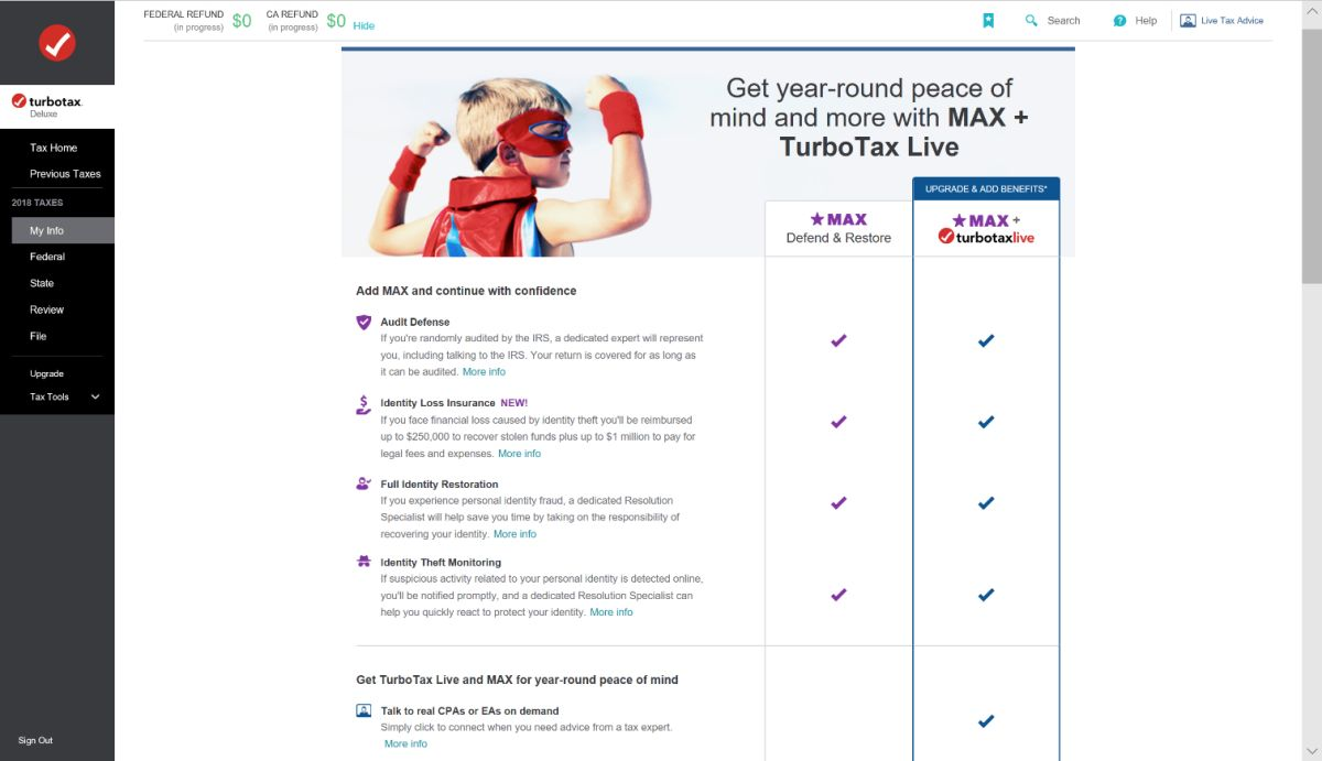 Intuit TurboTax Deluxe 2019: Taking Some Complexity Out of Tax