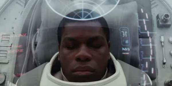 Finn in The Last Jedi trailer