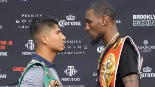 live stream Garcia vs Easter boxing