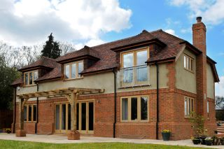 Timber frame self-build