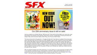 The SFX newsletter.