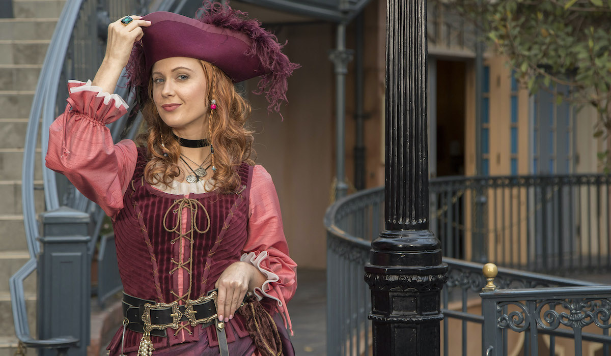 Redd character from Pirates of the Caribbean at Disneyland Parks