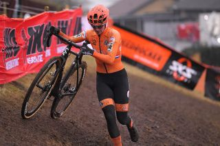Marianne Vos (Netherlands) at UCI Cyclo-cross World Championships in Bogense