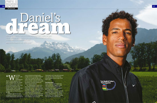 Cycle Sport magazine October 2010 issue