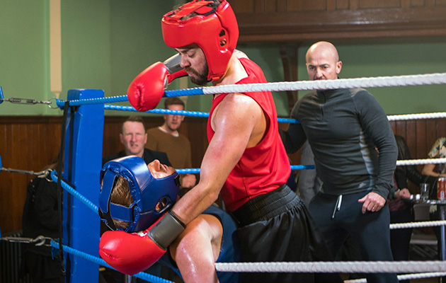 Coronation Street's David Platt vents his anger on Gary Windass!