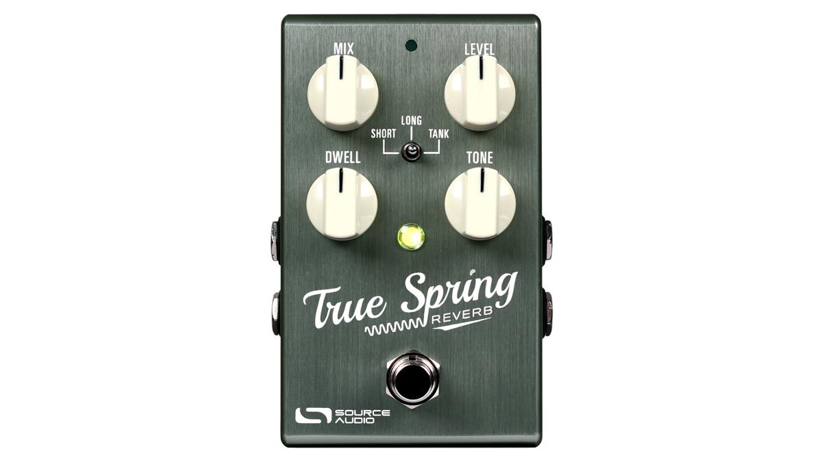 Source Audio debuts True Spring Reverb pedal