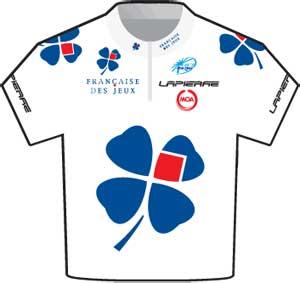 Francaise des Jeux jersey Tour de France 2010