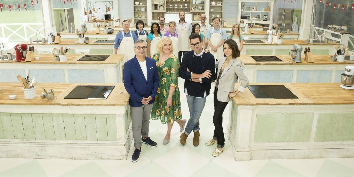 The contestants, judges, and hosts of The Great Canadian Baking Show