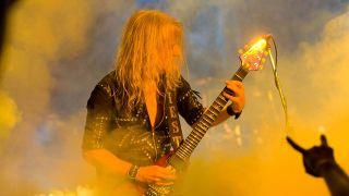 KK Downing plays with Judas Priest in 2009
