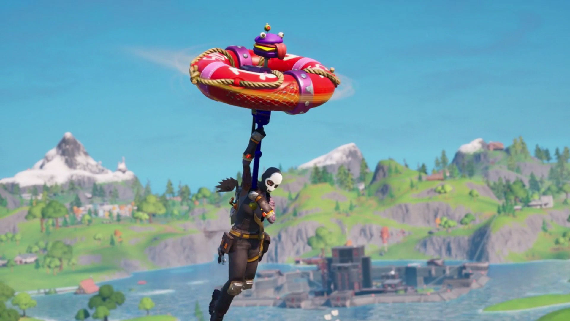 How To Remove Whole Biulding In Creative Fortnite Fortnite Build A Brella Challenges How To Completely Customise Your Umbrella Glider Gamesradar
