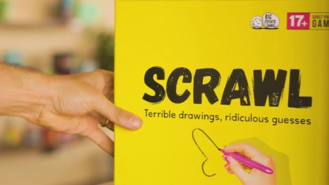 Scrawl board game review