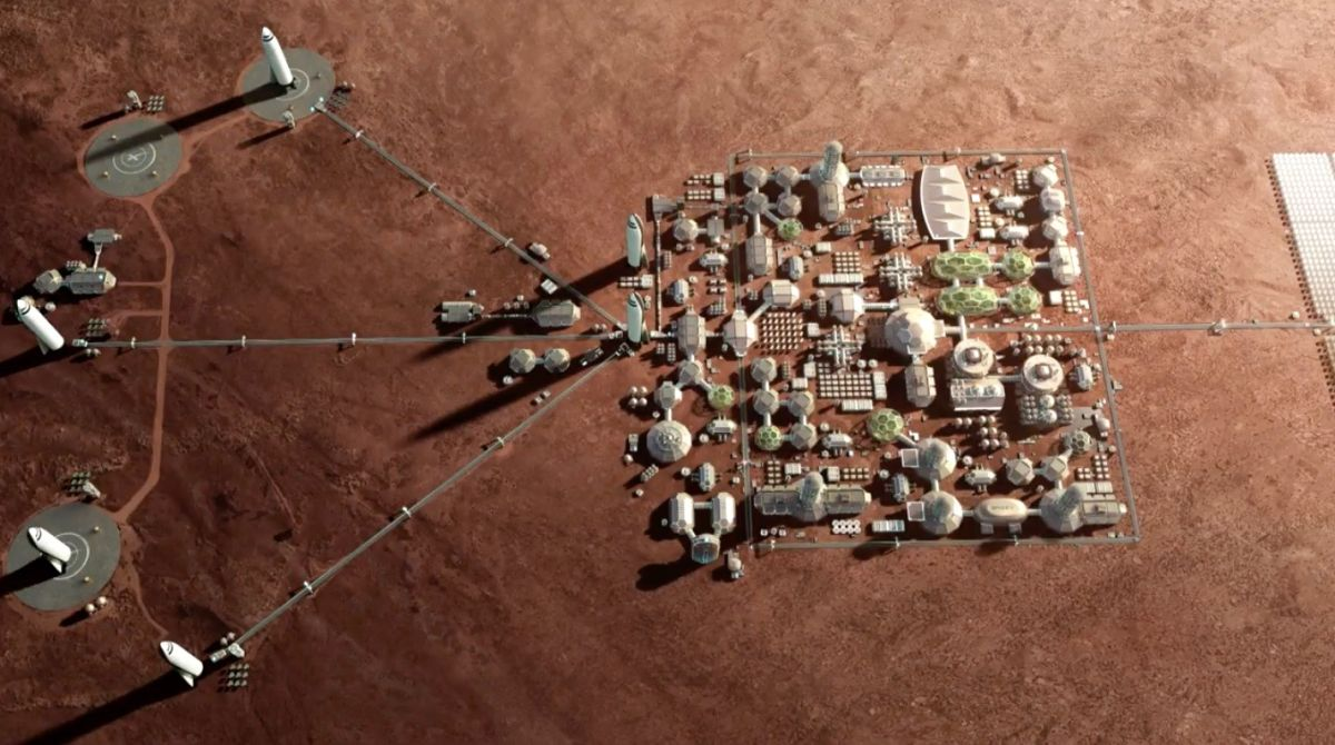 How to Feed a Mars Colony of 1 Million People