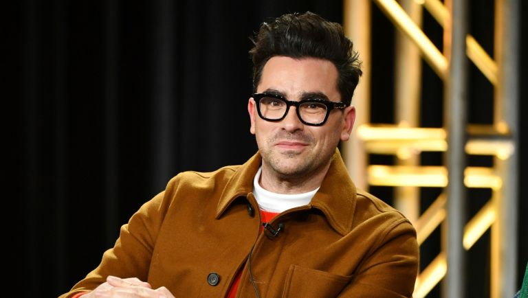 "Daniel Levy of ""Schitt's Creek"" speaks during the Pop TV segment of the 2020 Winter TCA Press Tour at The Langham Huntington, Pasadena on January 13, 2020 in Pasadena, California."