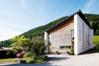 A zero carbon home in Wales