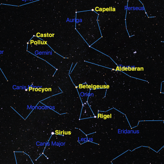 Orion The Hunter Spot Beloved Constellation Overhead Now Space