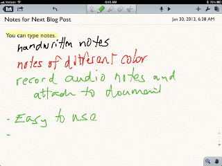 From the Principal's Office: Notability - Simple and Easy Way to Take Handwritten Notes on the iPad