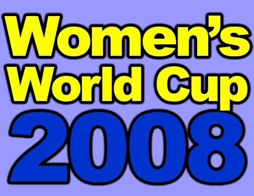 Women's World Cup 2008 logo