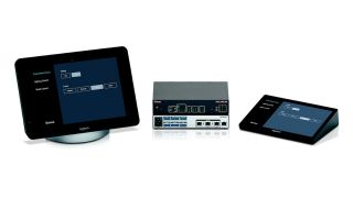 Extron AV control can now be part of Logitech SmartDock and Tap collaboration spaces.
