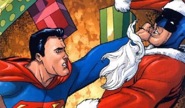 Superman Bat Santa Superman: Yes, Tyrone, There Is A Santa Claus DC