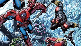cover of Avengers: Mech Strike #3