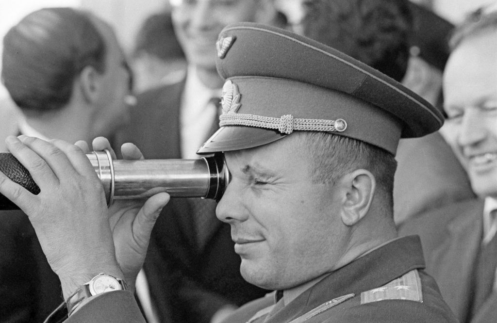 From Yuri Gagarin's launch to today, human spaceflight has always been political