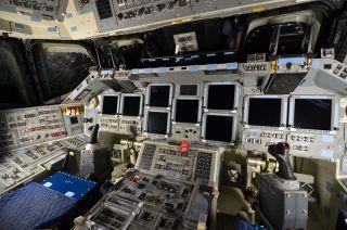 Endeavour's Forward Flight Deck