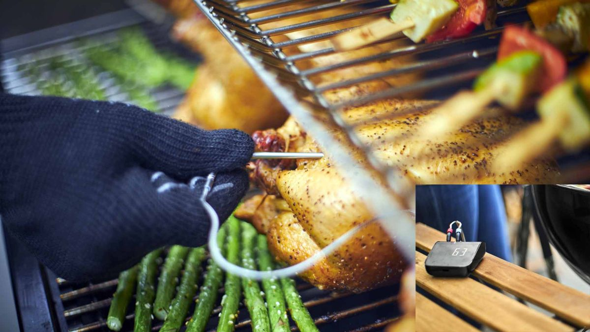 Weber Connect Smart Grilling Hub should mean no more burnt barbecue or food poisoning ever again