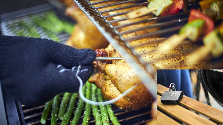 Weber Connect Smart Grilling Hub smart thermometer for barbecue