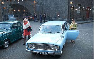 Trxie i Shealgh w Call położnej Christmas specjalne-dzień Bożego Narodzenia TV Highlight