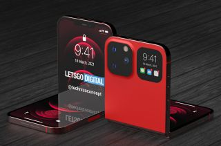 iphone flip concept