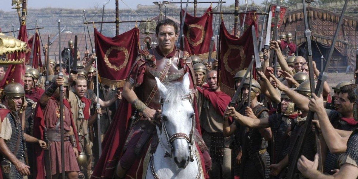 Ciarán Hinds on Rome