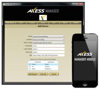 SurgeX Axess Manager Platform